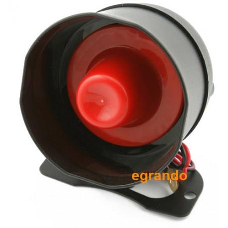 Uniwersalna syrena do alarmów samochodowych