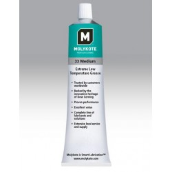 Molykote 33 Medium smar silikonowy 100g x10szt