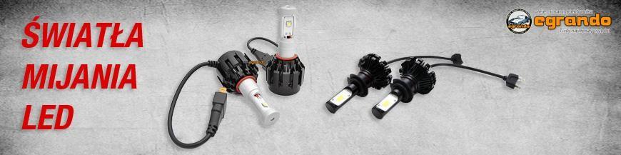 Światła mijania LED